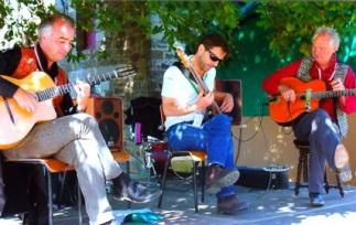 Jazz aux écluses avec J.Coquet et J.Seguin