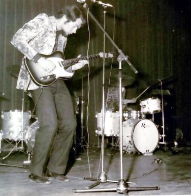 Première partie d'Eddy Mitchell. 1969