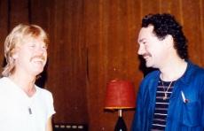Serge Lelièvre avec Gilles Lombard