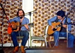 Serge Lelièvre avec Alain Giroux.